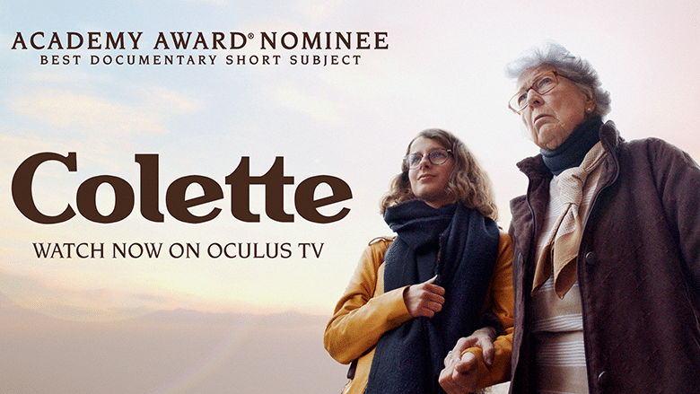 Oscar-Nominated Short Film Colette Now Available On Oculus TV For Quest