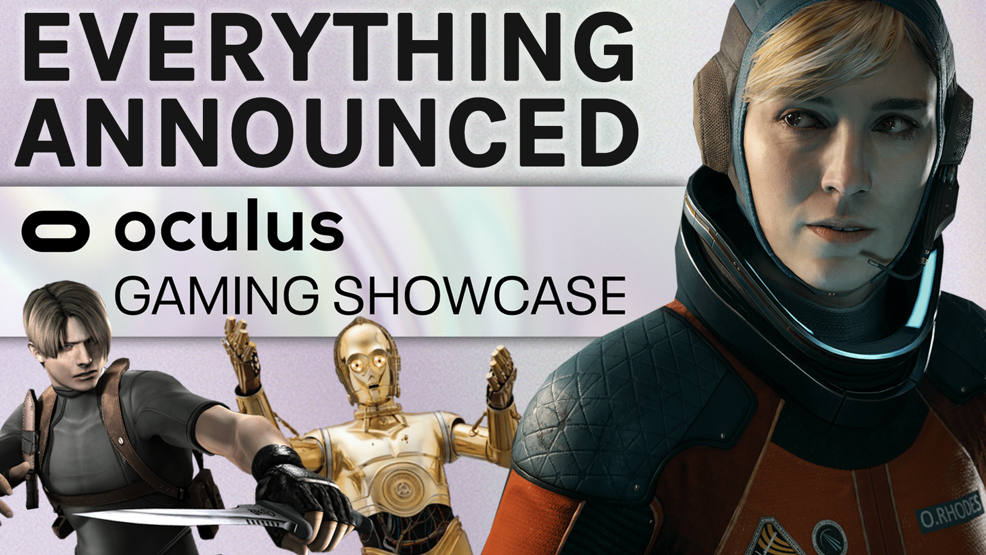 everything announced oculus gaming showcase