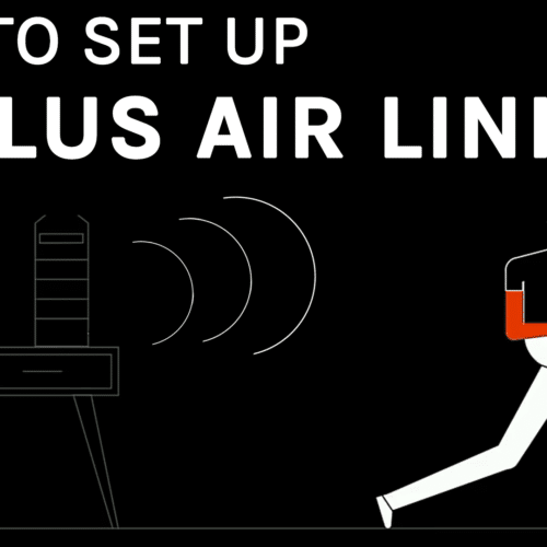 how to set up oculus air link