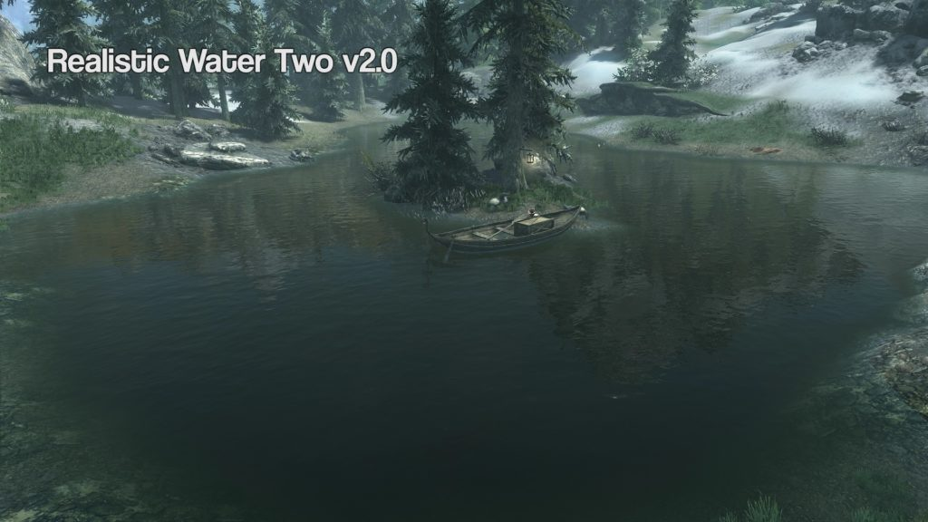 realistic water two skyrim vr mod