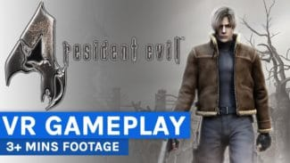 Watch: Resident Evil 4 VR Gameplay Montage Has 3+ Minutes Of Footage