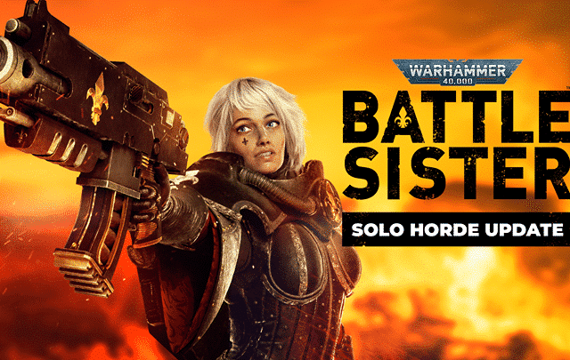 solo horde mode battle sister vr warhammer 40k battle sister