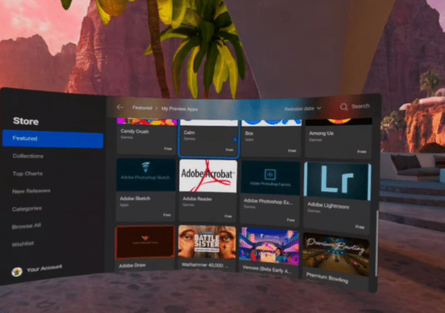 Oculus Quest Android Apps