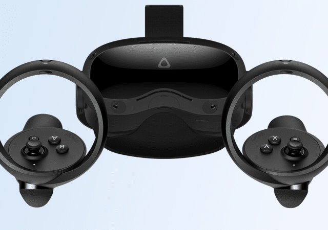Vive Focus 3 Headset and Controllers