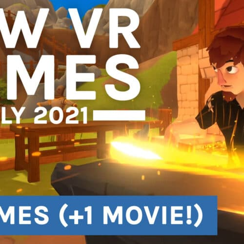 New VR Games July 2021