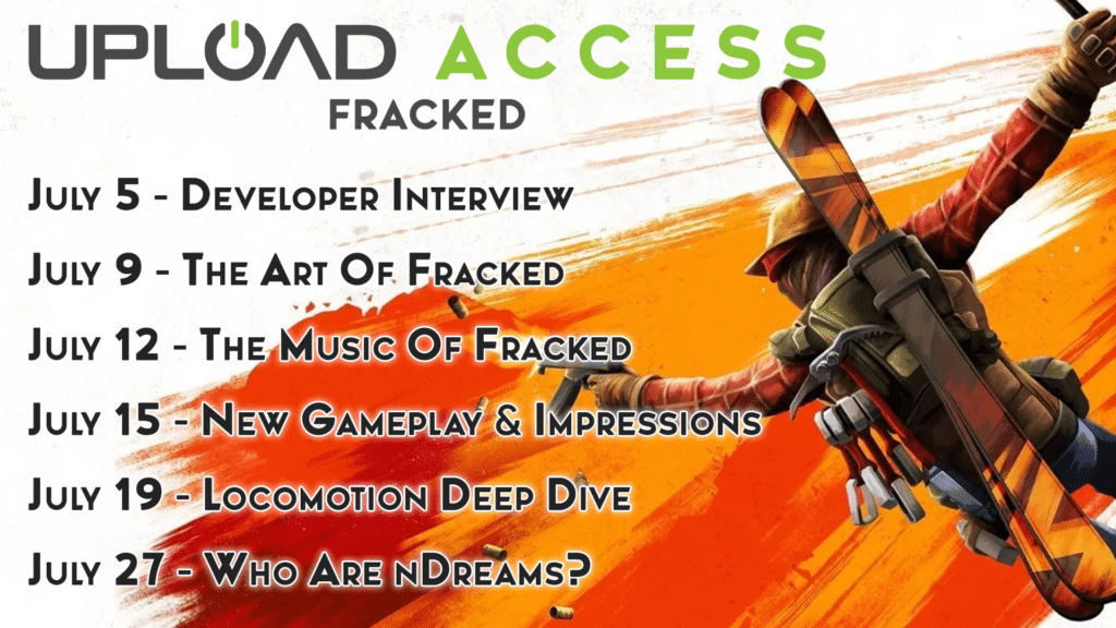 Upload Access Fracked Schedule